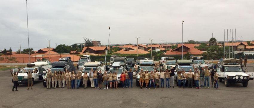 Raid Cacimbo Cuca 2018 está na estrada e já entrou na Namíbia