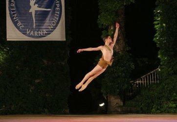 Bailarino português vence concurso internacional de dança na Bulgária
