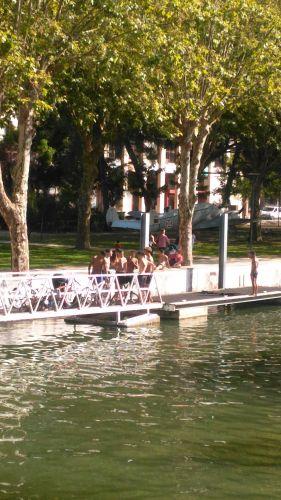 Banhos no rio