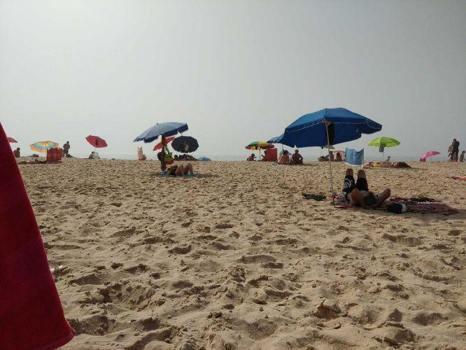 Excelente dia na Praia do Pedrógão