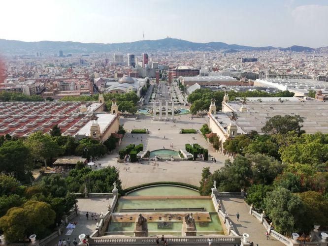 Barcelona em fotografias