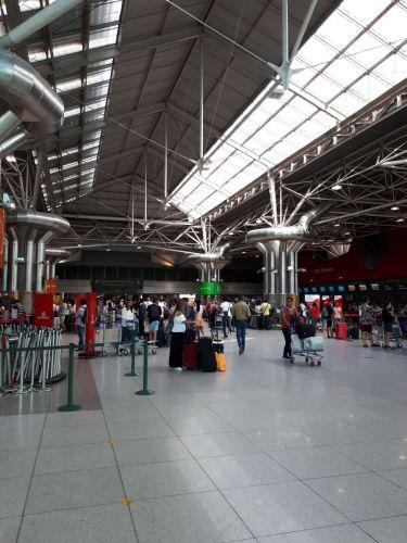 Aeroporto, onde a saudade ganha vida