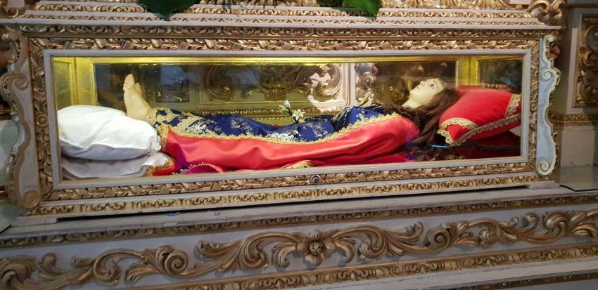 Santa Quitéria - Uma das 9 irmãs do mesmo parto