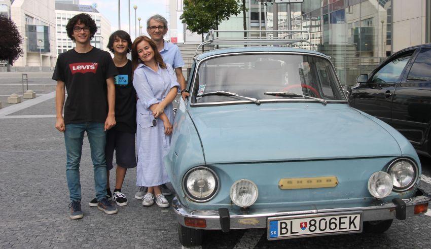 Uma família em Bratislava- parte II