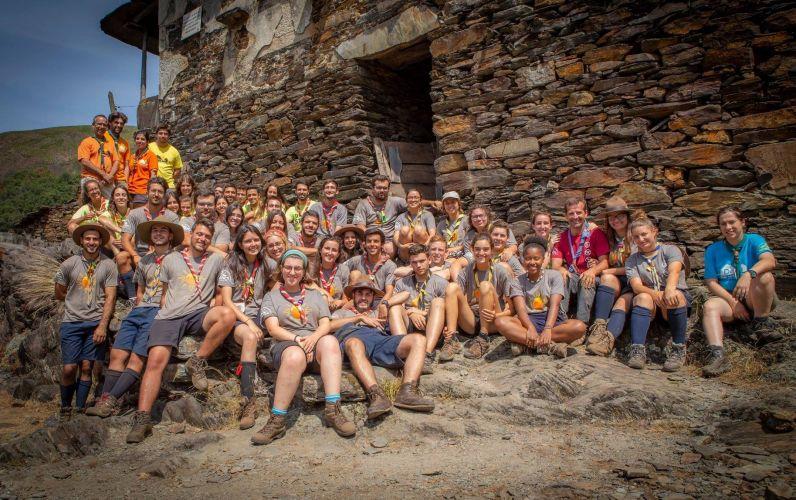 Escuteiros leirienses ajudam na reconstrução de aldeia