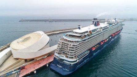 Porto de Leixões recebe o maior navio cruzeiro de sempre