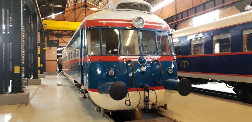 Museu dos Comboios apresenta comboio real