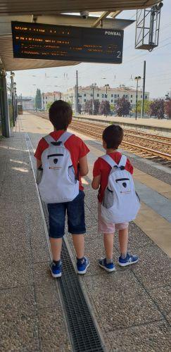 O prazer de viajar de comboio