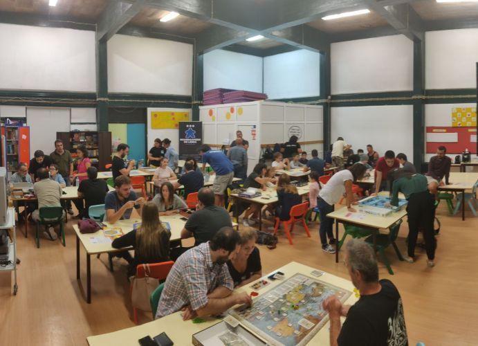 200.° Encontro de jogos de tabuleiro modernos em Leiria