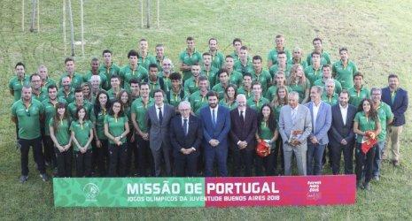 Portugal tem a maior comitiva de sempre nos Jogos Olímpicos da Juventude