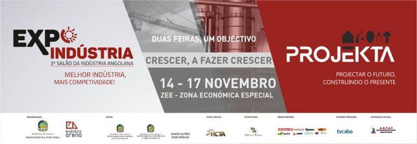 Expo-Indústria e Projekta em simultâneo na próxima semana