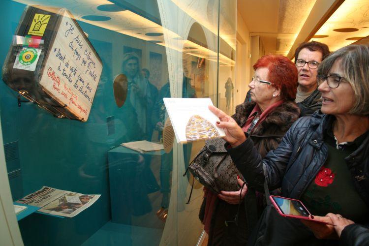 Batalhenses prestam homenagem à diáspora em França