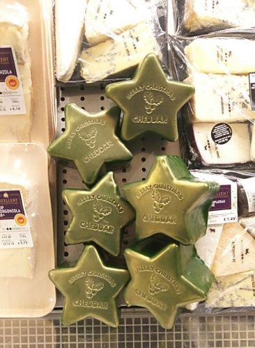 Queijo em forma de Estrela só mesmo em Dezembro