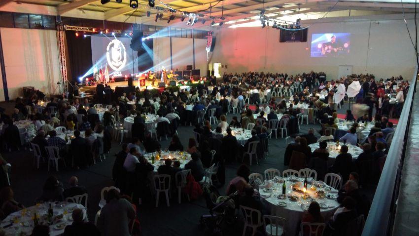 Gala comemorativa dos 50 anos do GAU