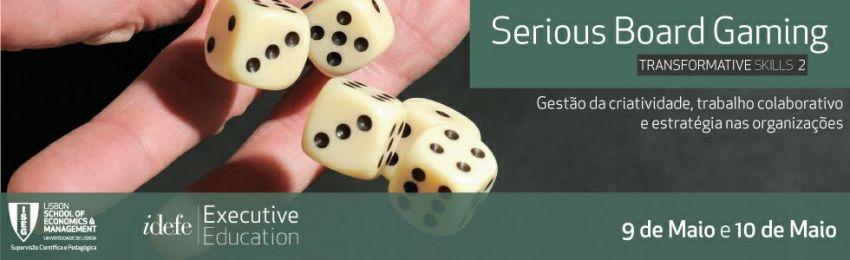 Formação executiva com jogos de tabuleiro