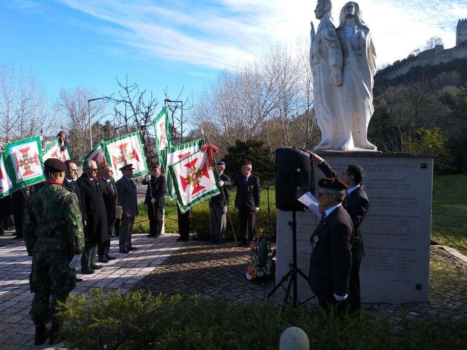 Celebração do aniversário do Núcleo de Leiria da Liga dos Combatentes