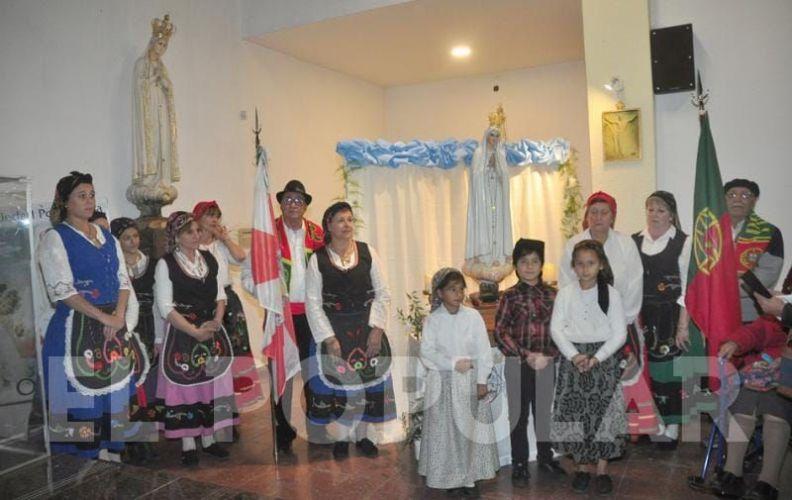 Visita a Olavarría da imagem missionária de Nossa Senhora de Fátima