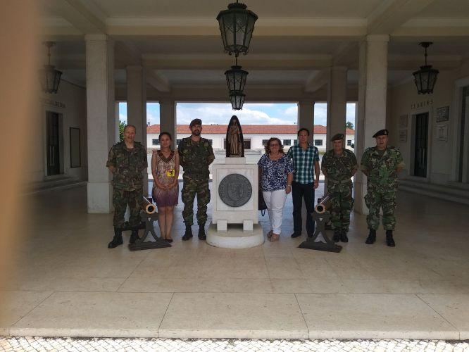 Visita de uma Capitão do Exército do Equador