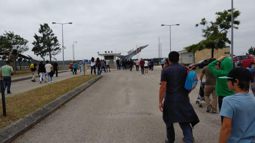 Festival aéreo na Base Aérea em Monte Real