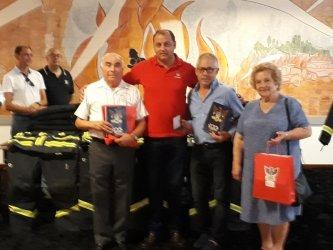 Association Portugaise de Bienfaisance doa equipamentos aos Bombeiros de Ourém