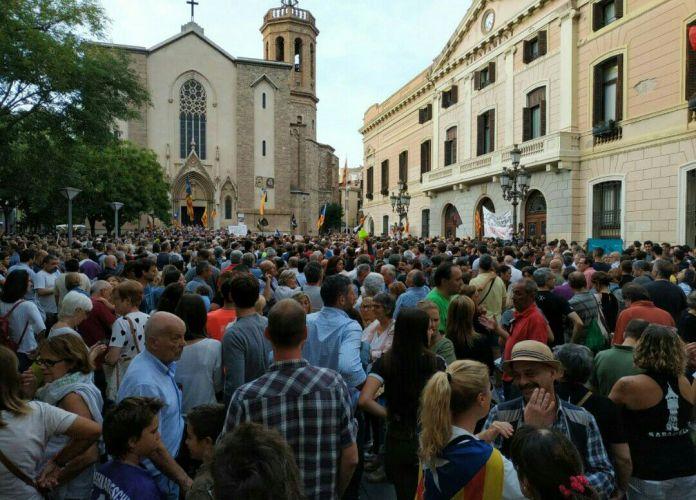 Catalunha e a luta não violenta