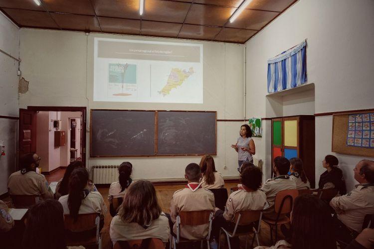App Repórter no Mundo apresentada a escuteiros do CNE Junta Regional Leiria-Fátima