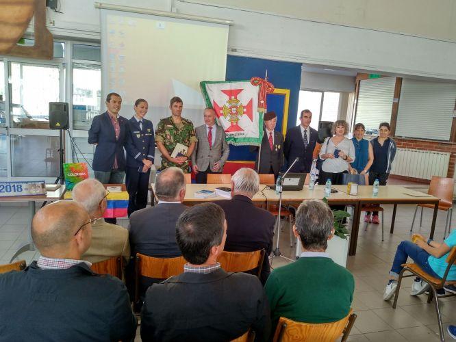 Conferência Missões de Apoio à Paz  na Escola D. Dinis