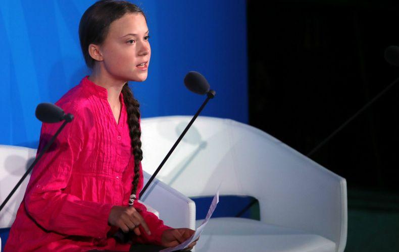 Discurso emocionante de ativista de 16 anos