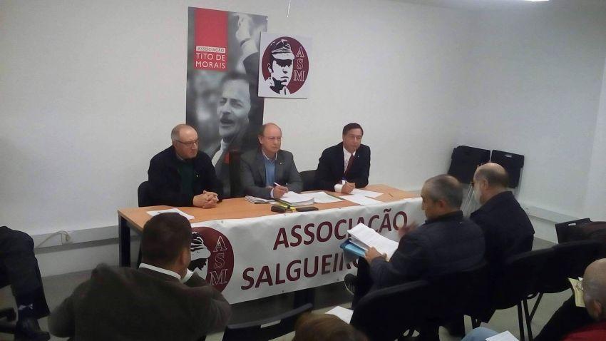Sócios aprovam voto de louvor pela atividade da Associação Salgueiro Maia
