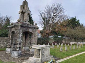 Memorial e campas de militares portugueses em França recebem obras de restauração