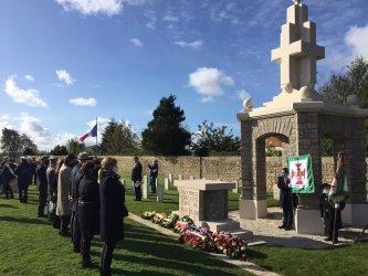 Reaberto memorial português aos mortos na Grande Guerra em França