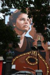 Mural de Amália mostra Portugal ao Canadá