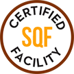 SQF Certified facility