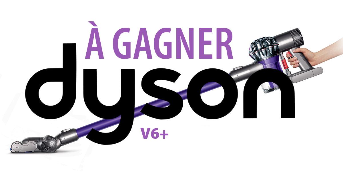 Gagnez un aspirateur sans fil V6 de Dyson