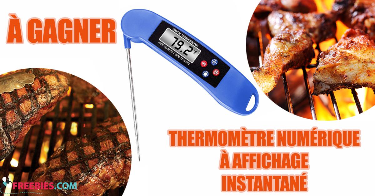 Gagnez un thermometre numérique Insta Read