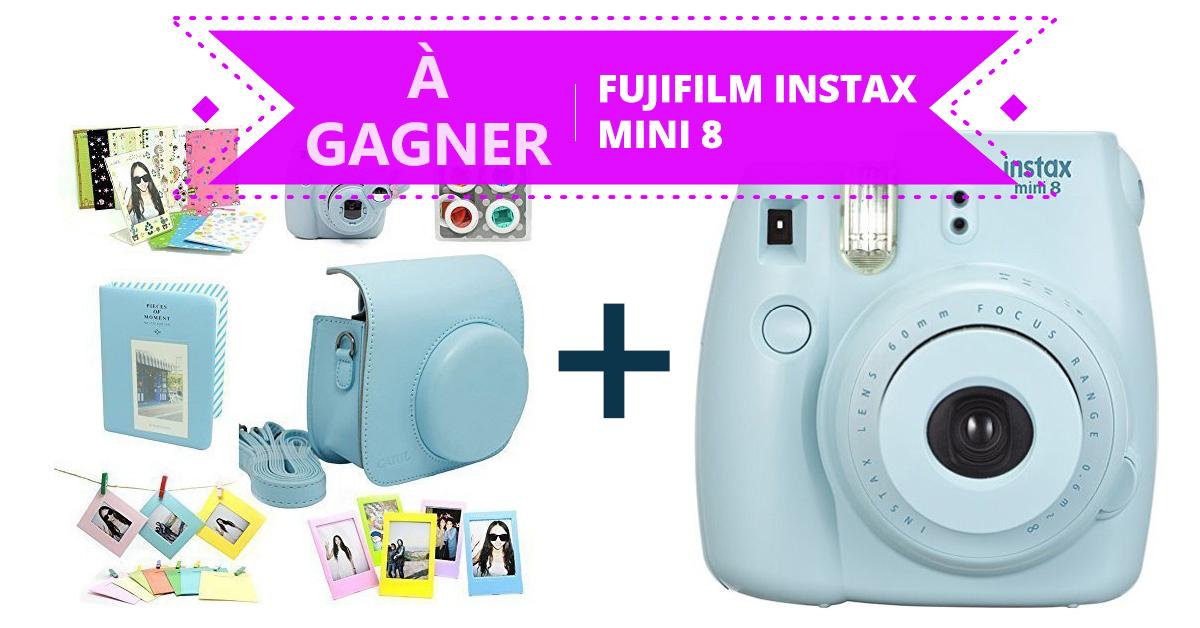 Gagnez un appareil Fujifilm Instax Mini 8