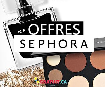 Recevez des cadeaux et des échantillons gratuits de Sephora