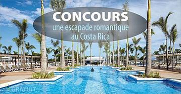 Concours: Gagnez une escapade romantique au Costa Rica