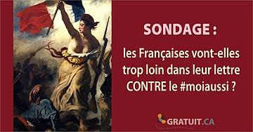 Les Françaises vont-elles trop loin dans leur lettre CONTRE le #moiaussi?