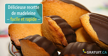 Délicieuse recette de madeleine – facile et rapide