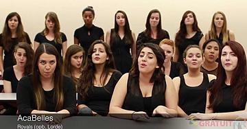 Des étudiantes de la Floride offrent une incroyable version à capella de Royals de Lorde