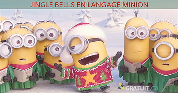 Hilarant karaoké de Jingle Bells en langage Minion