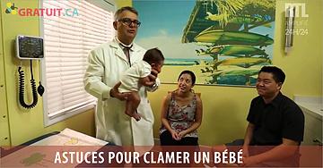 Calmez un bébé qui pleure en 15 secondes!