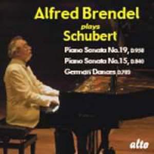 Album Schubert: Piano Sonatas Nos. 15 & 19; 16 German Dances