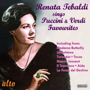 Album Renata Tebaldi Sings Puccini & Verdi Favourites