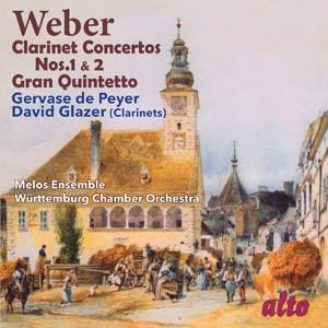 Album Weber: Clarinet Concertos Nos. 1 & 2; Gran Quintetto