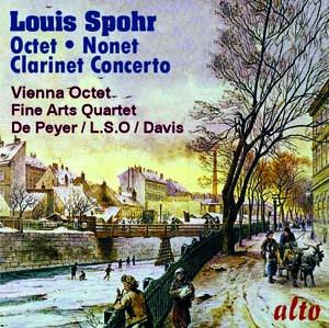 Album Spohr: Octet; Clarinet Concerto No. 1; Nonet