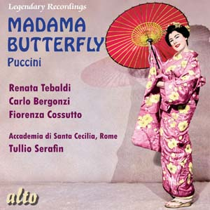 Album Madama Butterfly (complete opera in two acts)