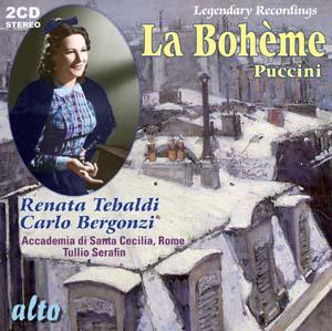 Album La Bohème (plus five bonus Puccini arias)