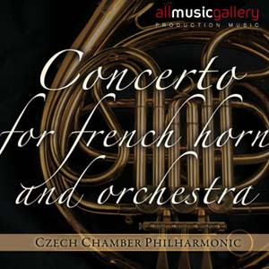 Album Concerts for French Horn and Orchestra Czech Chamber Philharmonic